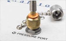 quicktest pressure port